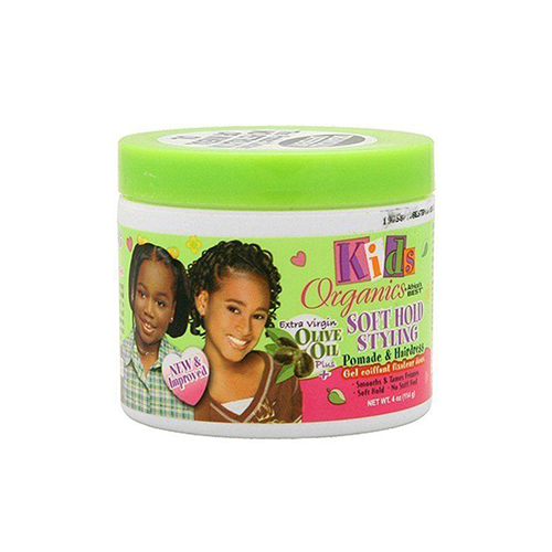 Kids Organics by Africa's Best Soft Hold Styling Pomade and Hairdress 4oz