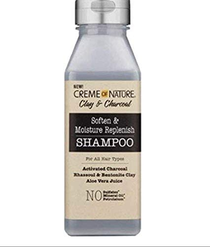 Creme of Nature Clay & Charcoal Soften & Moisture Replenish Shampoo 355ml