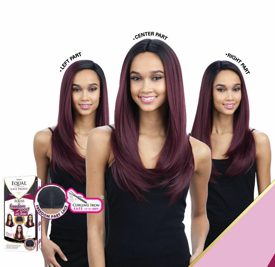 FREETRESS EQUAL SYNTHETIC LACE FRONT LONG STRAIGHT HAIR WIG - FREEDOM PART 201