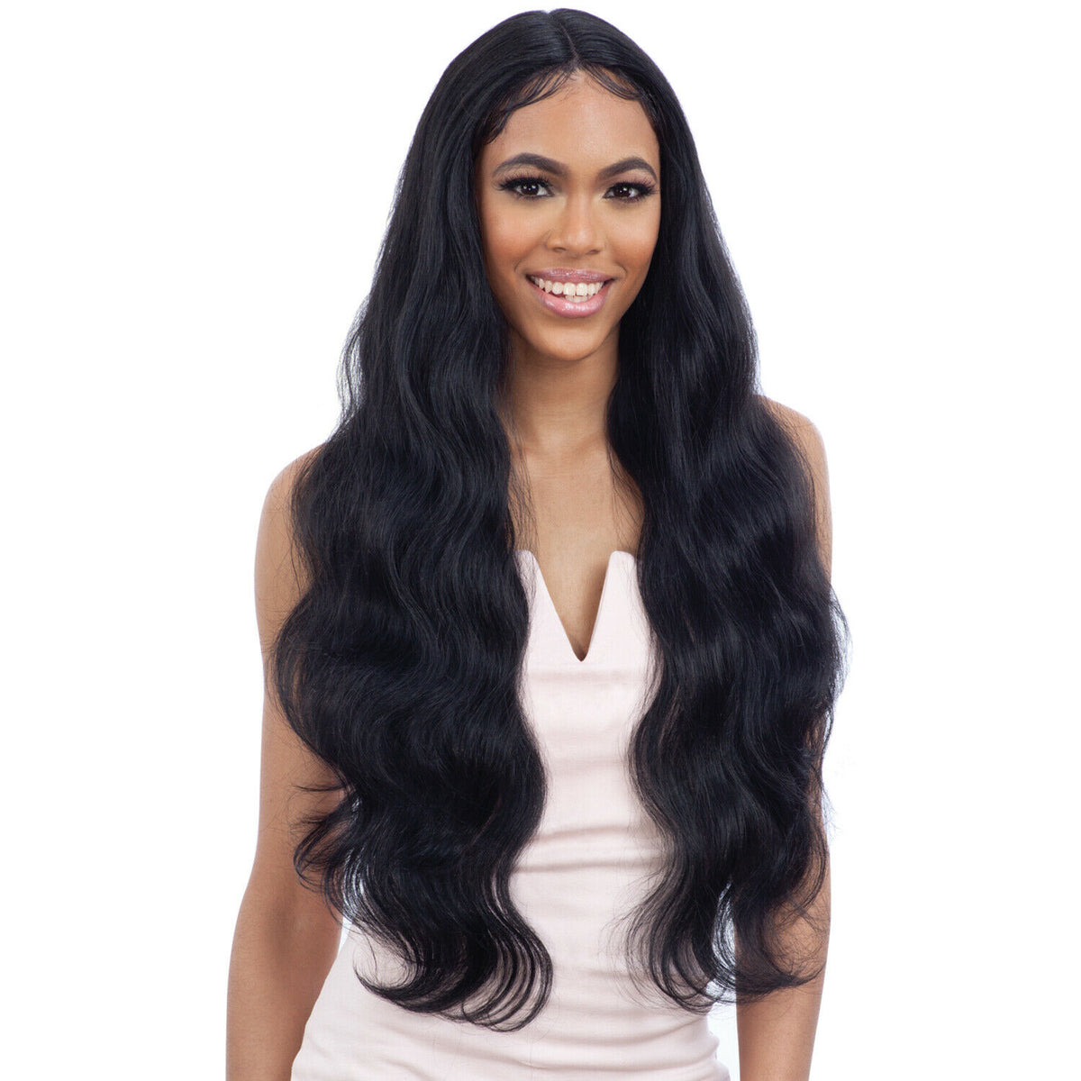 FREETRESS EQUAL SYNTHETIC FREEDOM PART LACE FRONT HAIR WIG - FREEDOM PART 402