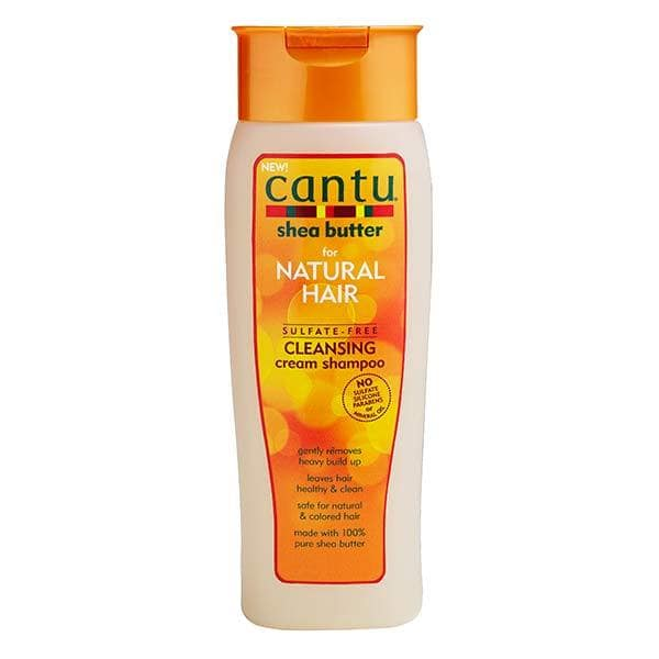 Cantu Shea Butter for Natural Hair Sulfate-Free Cleansing Cream Shampoo (400ml - 13. 5 fl oz)