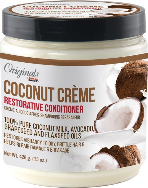 Africa's Best Coconut Recipes Restorative Deep Conditioner 15oz