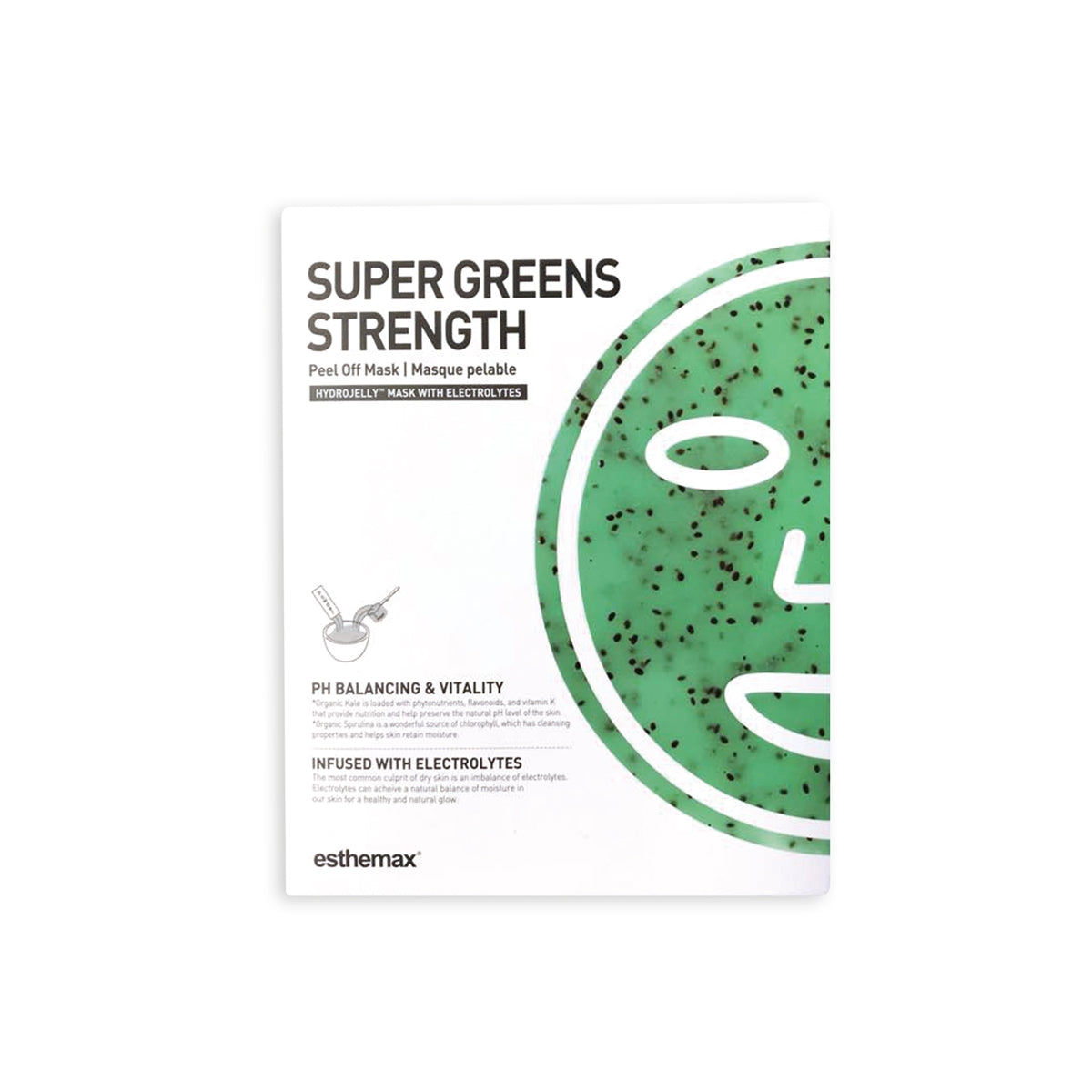 ESTHEMAX SUPER GREENS HYDROJELLY™ MASK