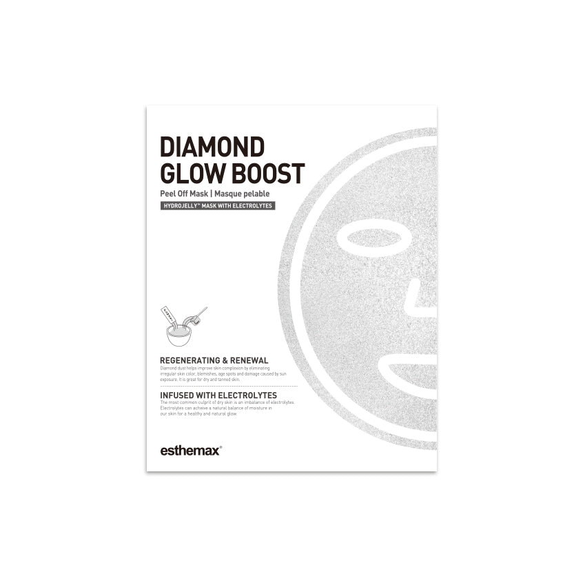 ESTHEMAX DIAMOND GLOW BOOST HYDROJELLY™ MASK