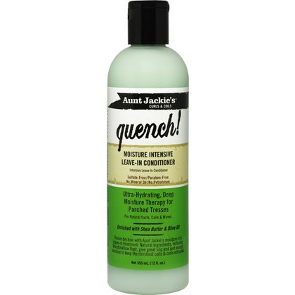 Aunt Jackie's Curls & Coils Quench! Moisture Intensive Leave-In Conditioner (355ml - 12 oz.)