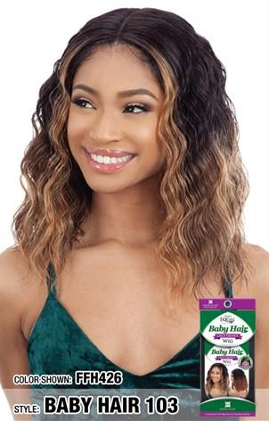 FREETRESS EQUAL SYNTHETIC LACE FRONT WIG - BABY HAIR 103