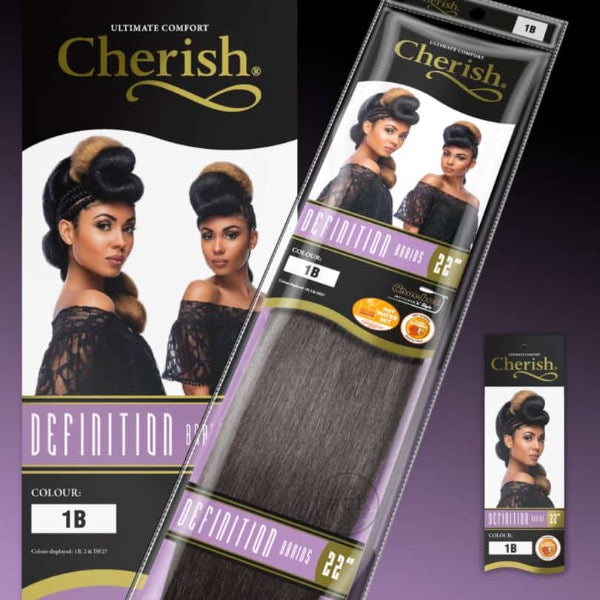 CHERISH DEFINITION BRAID ULTIMATE COMFORT TANGLE FREE BRAIDS 22 INCHES