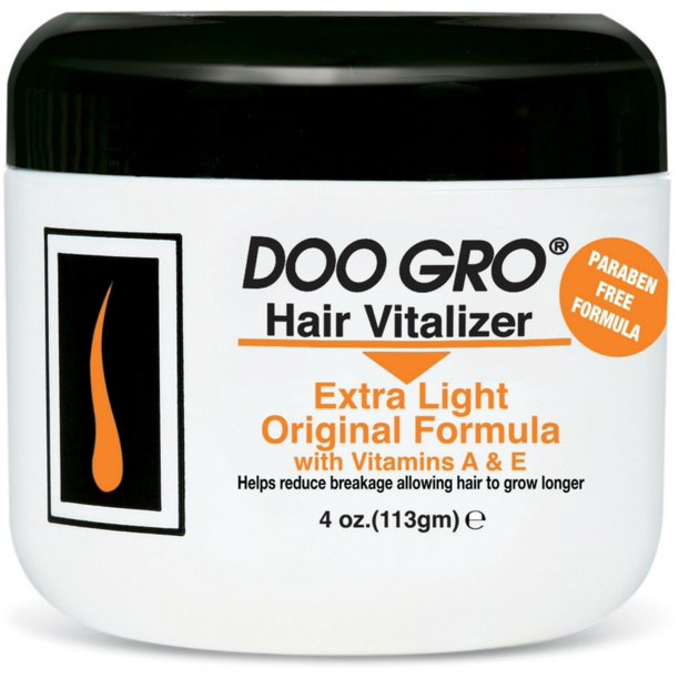 DOO Gro Hair Vitalizer Extra Light Jar 4Oz