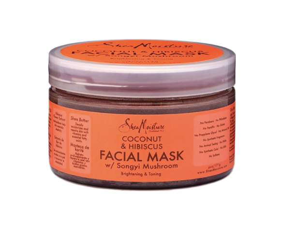 SheaMoisture Coconut and Hibiscus Facial Mask ( 114 ml - 4 fl oz)