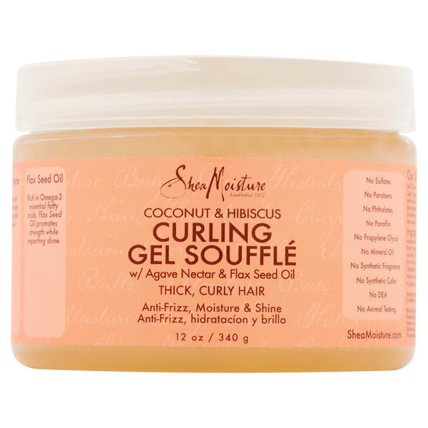 SheaMoisture Coconut & Hibiscus Curling Gel Souffle (340g - 12 oz.)
