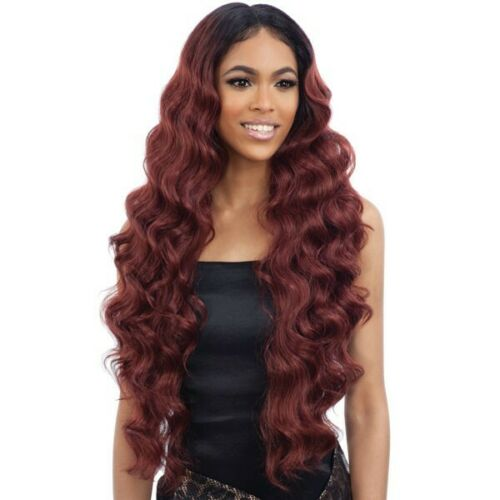 FREETRESS EQUAL SYNTHETIC LACE FRONT WIG LONG WAVY - BABY HAIR 102