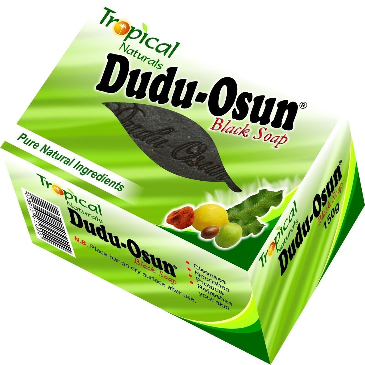 Tropical naturals dudu osun soap - The secret to healthy skin