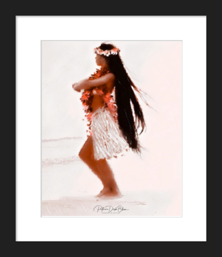MALIA - Framed Fine Art Paper Prints