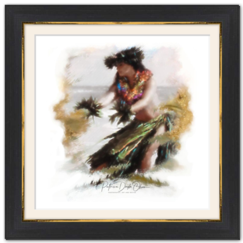 ADDRESSING THE EARTH - Framed Fine Art Paper Prints Frame: Black Rustic
