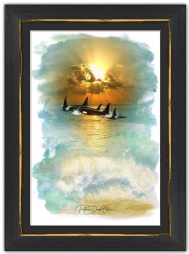 VACATION MIGRATION - Framed Fine Art Paper Prints