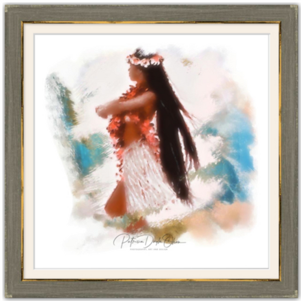 PROUDLY POSED - Framed Fine Art Paper Prints Frame: Brown Rustic