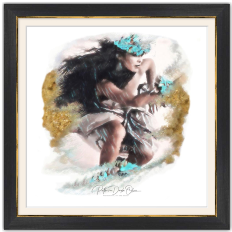 ANCIENT WIPEOUT - Framed Fine Art Paper Prints Frame: Black Rustic