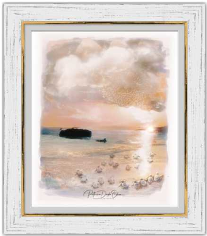 THE JOURNEY - Framed Fine Art Paper Prints Silver Ghost