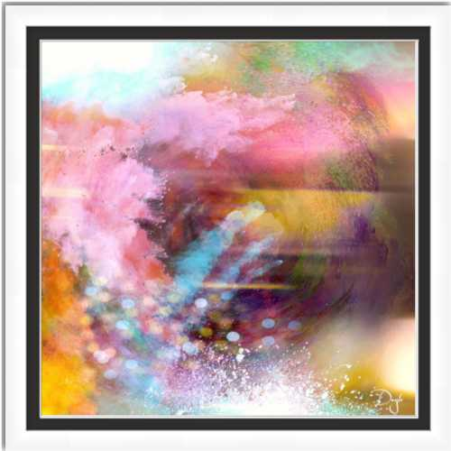 MISTIFIED - Framed Fine Art Paper Prints Alto White
