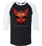 Never Surrender Raglan T-Shirt