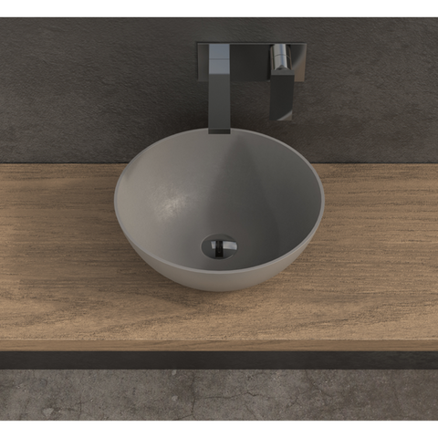 Image of Ideavit Solidthin-OV Oval Vessel Bathroom Sink PS IDV 284773
