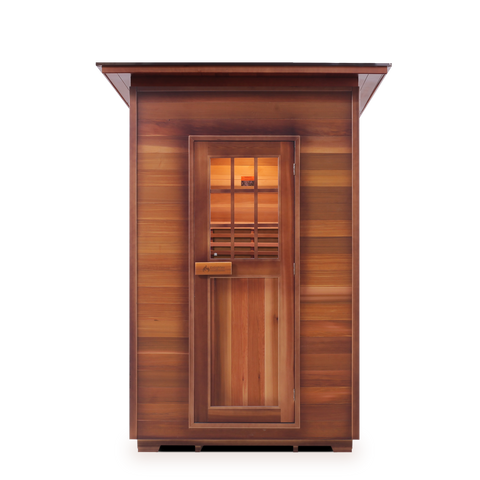 Image of Enlighten MoonLight 2 Peak Dry Traditional Outdoor/Indoor Sauna T-16376