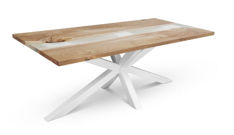 Maxima House Redde-2X Solid Wood Dining Table SCANDI094
