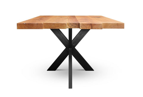 Image of Maxima House Alken Solid Wood Dining Table SCANDI110