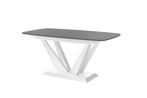 Maxima House Perfetto Lacquer Dining Table with Extension HU0019