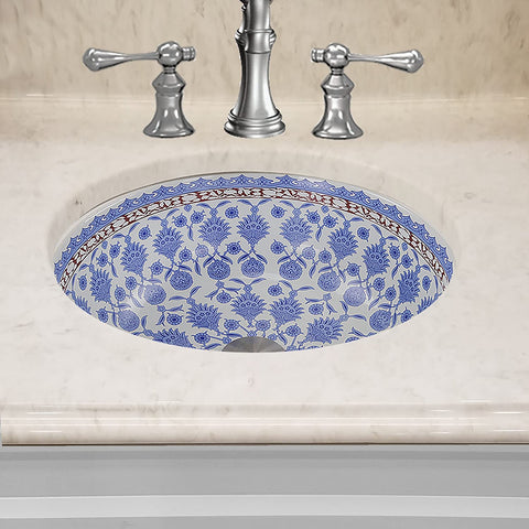 Nantucket Sinks Santorini Italian Fireclay Vanity Sink RC78140M