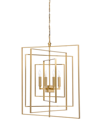 Image of Chelsea House Cube Chandelier 68689