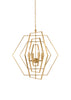 Chelsea House Hexagon Chandelier 68746
