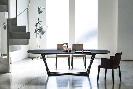"YumanMod Belfast 78"" Dining Table- Oakwood Top Oakwood Base BR01.02.03"