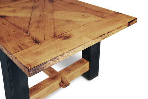 Image of Maxima House Britt-Jeans Solid Wood Dining Table SCANDI064