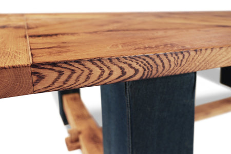 Maxima House Britt-Jeans Solid Wood Dining Table SCANDI064