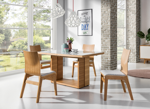 Maxima House Maders Solid Wood Dining Set DT0026