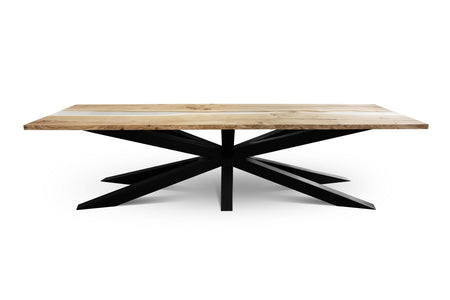 Maxima House Edder-2X Solid Wood Dining Table SCANDI037