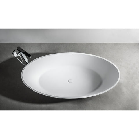 Image of Ideavit Solidellipse Free Standing Bathtub PS IDV 290032