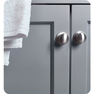 "Image of Fresca Manchester 72"" Gray Traditional Double Sink Bathroom Cabinet w/ Top & Sinks FCB2372GR-D-CWH-U"
