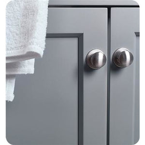 "Fresca Manchester 72"" Gray Traditional Double Sink Bathroom Cabinet w/ Top & Sinks FCB2372GR-D-CWH-U"