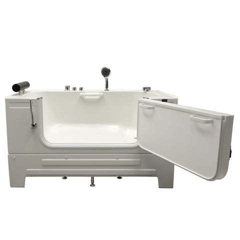 Image of Homeward Bath Neptune Series Sit-In Tub 59L x 33W x 33.5H HY42