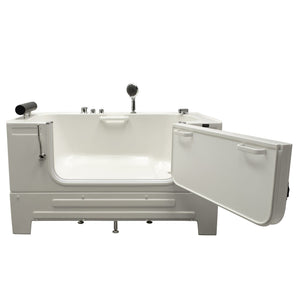 Homeward Bath Neptune Series Sit-In Tub 59L x 33W x 33.5H HY42