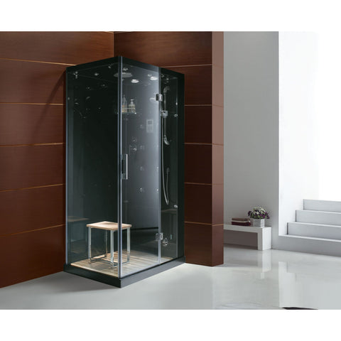 Image of Homeward Bath Jupiter Plus Steam Shower in White M6020
