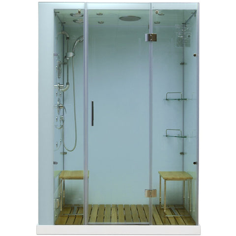 Image of Homeward Bath Orion Plus Steam Shower in Black M6028