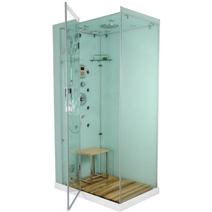 Homeward Bath Jupiter Plus Steam Shower in White M6020