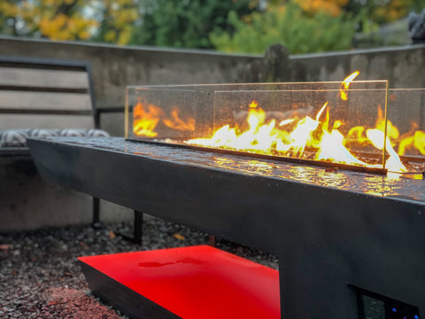 Music City Fire Company The Resonate Fire Pit Table Technology MC050103