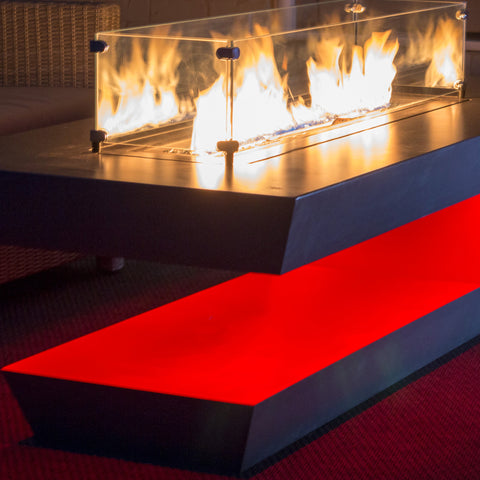 Music City Fire The Resonate Outdoor Music Reactive Fire Table Pit MC050103