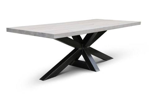 Maxima House Edder - XW Natural Wood Dining Table SCANDI012