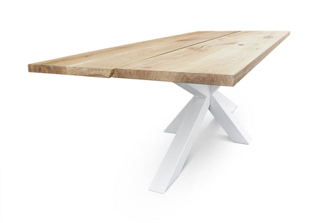 Image of Maxima House Edder-CL Natural Wood Dining Table SCANDI021