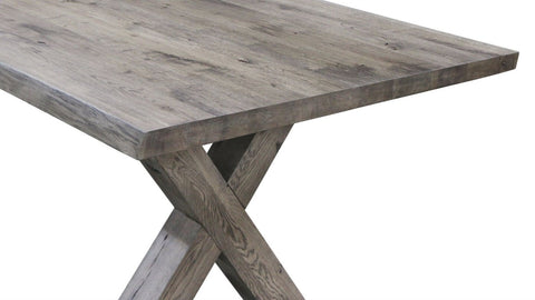 Image of Maxima House Castle-X Solid Wood Dining Table SCANDI023